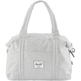Herschel Strand Borsa per acquisti, light grey crosshatch